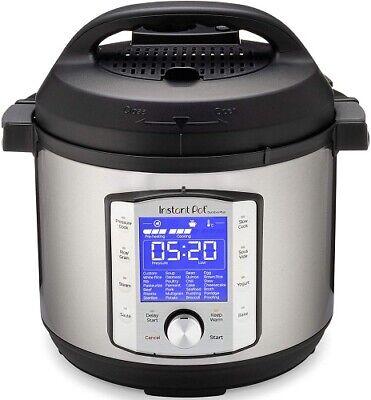 Instant Pot 9-in-1 Duo Evo 6 qt. Plus Programmable Electric Pressure Cooker