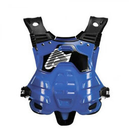 New Adult Acerbis Profile Body Armour Motocross Neck Brace Compatible Blue