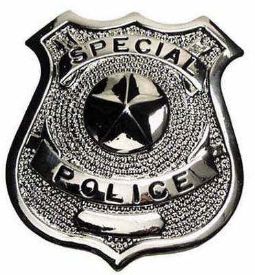 Abzeichen Polizei - US Special Police (Metall Polizeimarke)