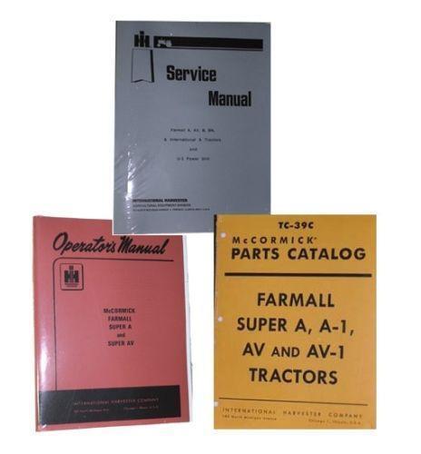 Farmall A Parts Ebay