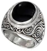 Mens Onyx Ring Size 13