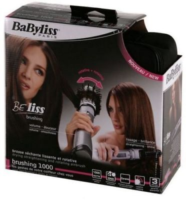 Rotating Brush Hair Styler Ionic 1000W Babyliss Beliss 2735 E Brush   Style
