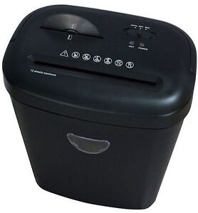 ProAction 12 Sheet 25 Litre Bin  Card and CD Cross Cut Paper Shredder