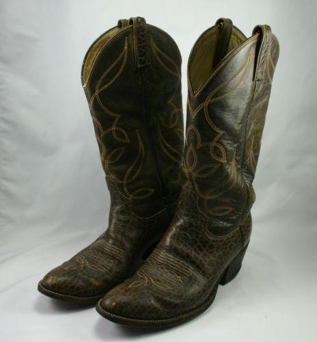 Vintage Alligator Boots Ebay