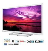 White LCD TV
