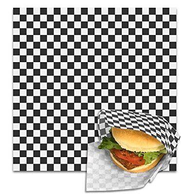 Restaurant Deli Paper Food / Basket Liner Wrap, 12