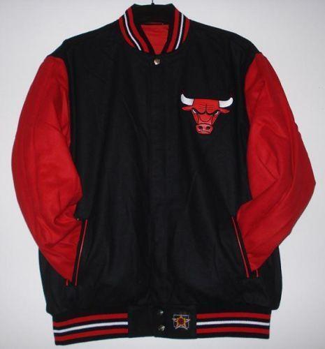 Chicago Bulls Reversible Jacket Ebay