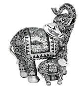 Large Elephant Ornaments