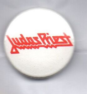 JUDAS PRIEST  BUTTON  BADGE ENGLISH HEAVY METAL BAND ROCK  - SIN AFTER SIN 25mm