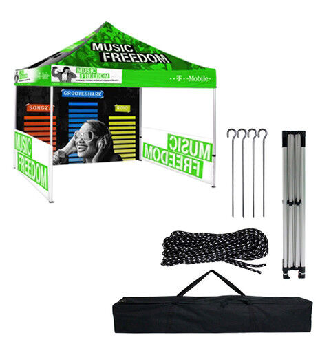 10 FT Pop Up Canopy Tent (Hardware Only)