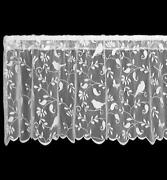 Lace Curtain Valance