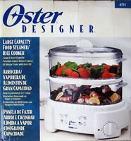 Used Oster Designer Food Steamer (No Box)