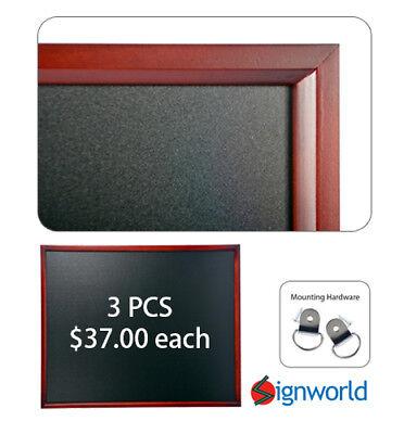 Wooden Framed Chalkboard 24