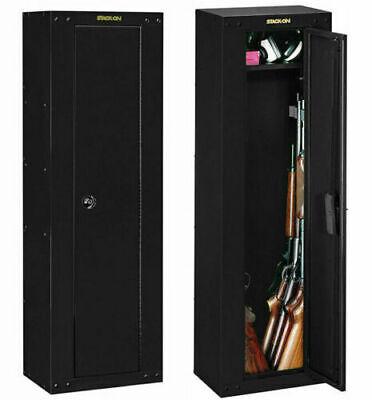 8-Gun Fully Convertible Rifle Shotgun Security Cabinet Locker Storage Safe NEW