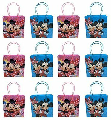 12pcs Mickey and Minnie Mouse Birthday Party Favor Goodie Gift candy Loot - Mickey And Minnie Birthday Party