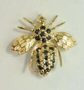 14k Bee Pin