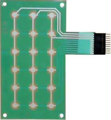 Dixie Narco Bev Max Key Pad Membrane Fits 2145 5591 Dn5000 Mfg 80491826001