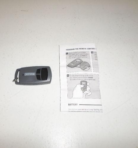 Craftsman Garage Door Opener Sensor: Craftsman Garage Door Opener Remote