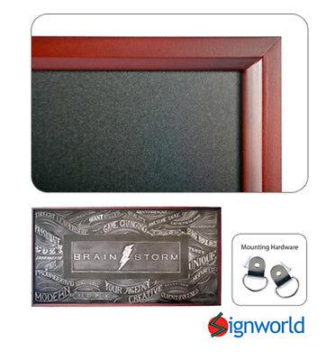 Wooden Framed Chalkboard Large 24