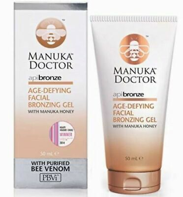 Honey Bee Venom (Manuka Doctor Age Defying Facial Bronzing Gel with Manuka Honey & Bee Venom 50ml)