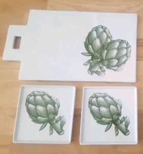 Artichoke plates new