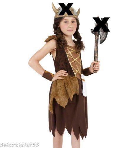 sc 1 st  eBay & Girls Viking Costume | eBay