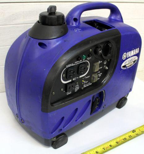 Used yamaha generators ebay for Yamaha 2000 generator run time