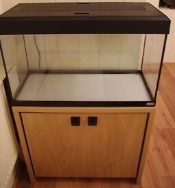 Fluval Roma 125 Fish Tank and Stand in Oak