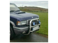 Stainless Steel A Bar / Bullbar fits Isuzu Trooper & Shogun Monterey