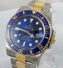 Rolex Submariner Solid Gold Band Rolex Wristwatches