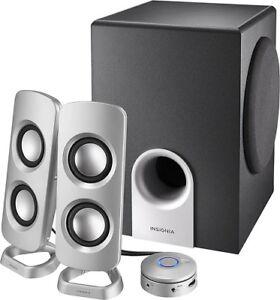 Insignia 2.1 Speakers.