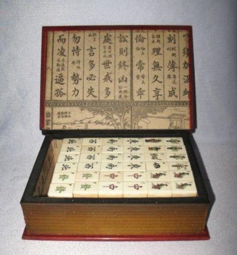 Mahjong Box Ebay