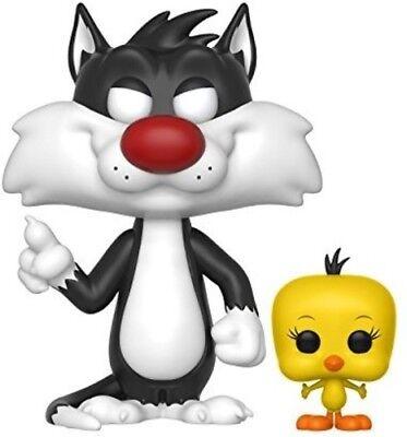 FUNKO POP! ANIMATION: Looney Tunes - Sylvester & Tweety [New Toy] Vinyl Figure