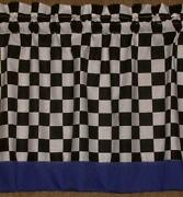 Checkered Flag Curtains