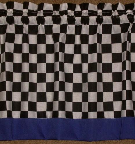 Checkered Flag Curtains