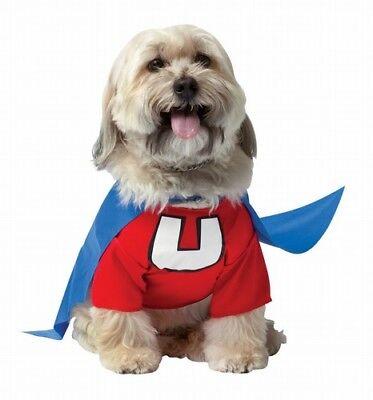 Haustier Hund Lizenziert Deluxe Underdog Superhelden Kostüm mit / - Super Helden Hunde Kostüm
