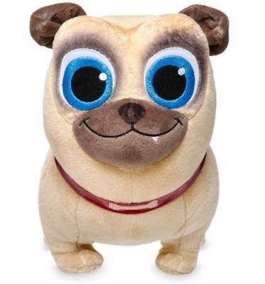 New Disney Store Puppy Dog Pals Rolly  Plush 12  Pug Nwt