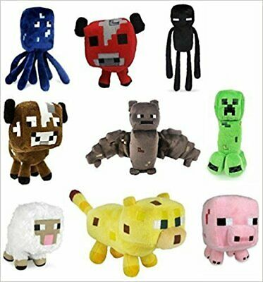 Minecraft Plush Toys 6 to 8 Inches Long FAST USA SHIPPING
