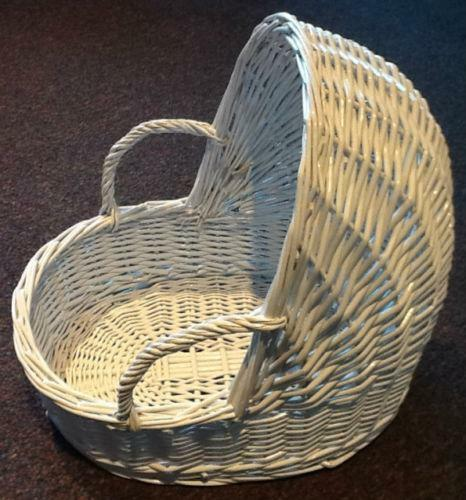 Wicker Baby Basket Ebay