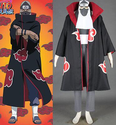 NARUTO Akatsuki Kakuzu Cosplay costume Kostüm Mantel cloak anime neu umhang - Akatsuki Kakuzu Cosplay Kostüm
