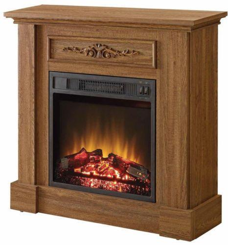 Oak Electric Fireplace Ebay