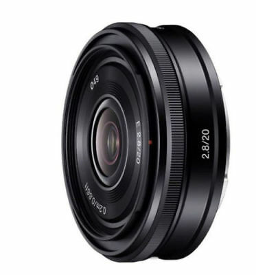Sony SEL20F28 E-Mount 20mm F2.8 Prime Lens - Black