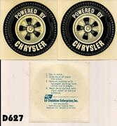 Vintage Drag Racing Decals