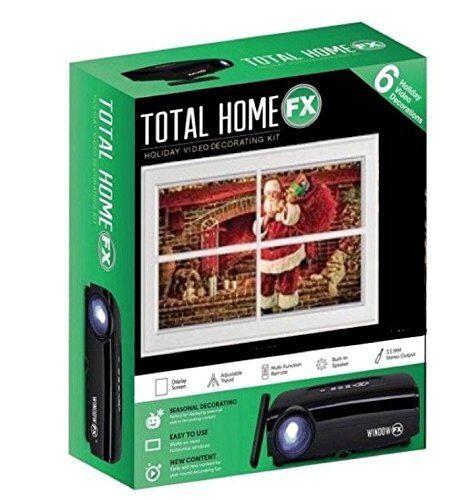 Halloween Seasonal Christmas Animated Window FX Projector Kit with USB MSRP $80