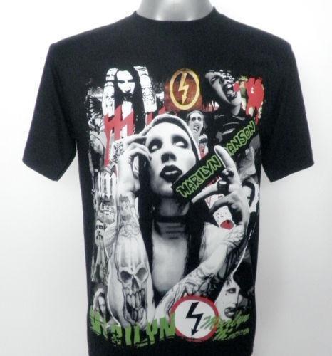 Marilyn Manson T Shirt Ebay