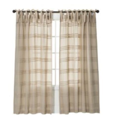 Semi Sheer Panels Curtains Drapes Valances Ebay