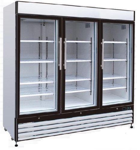 3 Door Commercial Freezer