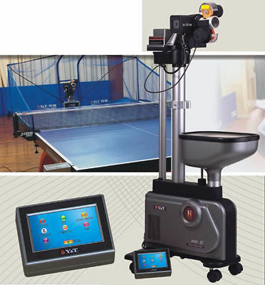 New Table Tennis Robot Balls Picker Ping Pong Auto Ball Training Machine 989H