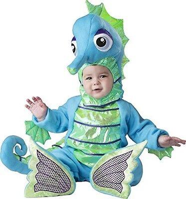 Incharacter Dumm Seepferdchen Fisch Tier Kleinkinder Baby Halloween Kostüm - Baby Fisch Kostüm Halloween