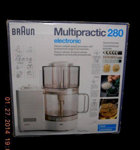 Braun Food Processor Ebay